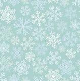 Modèle sans couture de flocon de neige Images stock