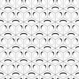 Modèle sans couture de fond de cubes Cubes avec des trous Illustration de vecteur pour votre eau doux de design illustration de vecteur