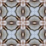 Modèle sans couture de fond de thé de tuile asiatique de pierre Photo libre de droits