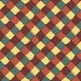 Modèle sans couture de fond multicolore de patchwork Images libres de droits
