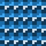 Modèle sans couture, de forme géométrique différente Photo stock