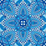 Modèle sans couture de foulard de Paisley d'Inde, textile décoratif, s'enveloppant, décor Images libres de droits