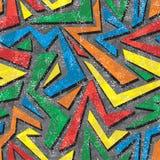 Modèle sans couture de graffiti d'Absract. Vecteur Photo libre de droits