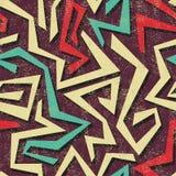 Modèle sans couture de graffiti d'Absract. Vecteur Photographie stock libre de droits