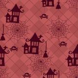 Modèle sans couture de Halloween illustration stock