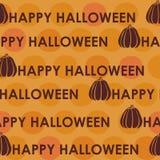 Modèle sans couture de Halloween Photo stock