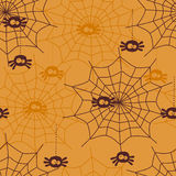 Modèle sans couture de Halloween illustration de vecteur