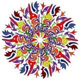 Modèle sans couture de la Bohême d'art tribal Copie géométrique ethnique Texture de répétition colorée de fond Tissu, conception  photographie stock