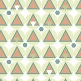 Modèle sans couture de la géométrie simple Illustration Stock