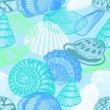 Modèle sans couture de la vie sous-marine colorée d'océan Photo libre de droits