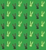 Modèle sans couture de lapin de ressort Image libre de droits