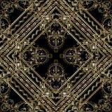 Modèle sans couture de luxe de Paisley Wallpa floral de fond de vecteur Photo stock