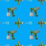 Modèle sans couture de mélangeur de jet de vecteur Photo libre de droits