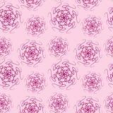 Modèle sans couture de mandala simple illustration de vecteur