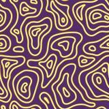 Modèle sans couture de mode exotique abstraite Texture sauvage naturelle de fond d'Africain ethnique Ornement batic de métier de  illustration libre de droits