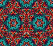 Modèle sans couture de mosaïque d'arabesque Image stock