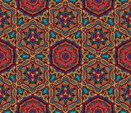 Modèle sans couture de mosaïque géométrique abstraite Photos libres de droits