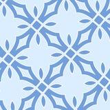 Modèle sans couture de Noël des flocons de neige blancs Images stock