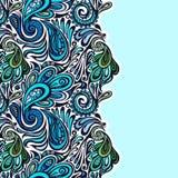 Modèle sans couture de Paisley Photographie stock libre de droits
