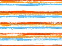 Modèle sans couture de papier peint intérieur occasionnel de rayures illustration libre de droits