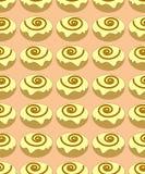 Modèle sans couture de petits pains photographie stock libre de droits