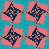 Modèle sans couture de place abstraite colorée de la géométrie Images stock