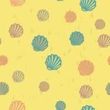 Modèle sans couture de plage d'été Photos libres de droits