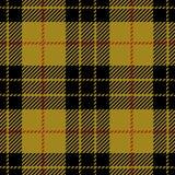 Modèle sans couture de plaid de tartan de MacLeod de clan illustration stock