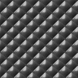 Modèle sans couture de plat de diamant en métal Photographie stock libre de droits