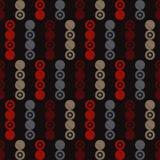 Modèle sans couture de point de polka Fond géométrique Points, cercles et boutons Photographie stock