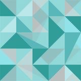 Modèle sans couture de polygone abstrait illustration libre de droits