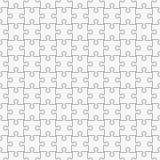 Modèle sans couture de puzzle classique simple Image libre de droits
