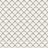 Modèle sans couture de rétro maille abstraite Images stock