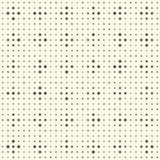Modèle sans couture de rayure et de cercle Fond de monochrome de vecteur Photos stock