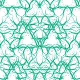 Modèle sans couture de remous de vecteur Texture moderne illustration libre de droits