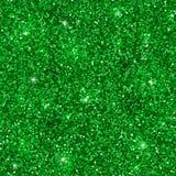Modèle sans couture de scintillement vert Vecteur Photo stock
