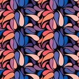 Modèle sans couture de slyle tiré par la main floral coloré ethnique de griffonnage Images libres de droits