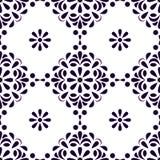 Modèle sans couture de style ancien Fond de cru Texture classique de style Pour le papier peint, textile, tissu, papier de chute, illustration de vecteur