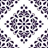 Modèle sans couture de style ancien Fond de cru Texture classique de style Pour le papier peint, textile, tissu, papier de chute illustration stock