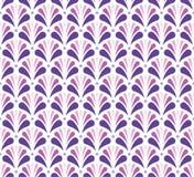 Modèle sans couture de style floral d'arabesque de vecteur Fond abstrait d'ornement Illustration Libre de Droits