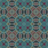 Modèle sans couture de style marocain de tuile illustration de vecteur