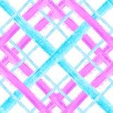 Modèle sans couture 2 de tartan illustration stock