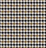 Modèle sans couture de texture de pied-de-poule illustration de vecteur