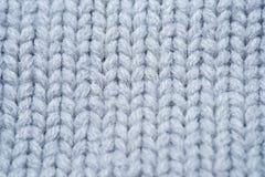 Modèle sans couture de texture réaliste blanche et grise de knit fond pour la bannière, site, carte, papier peint illustration de vecteur