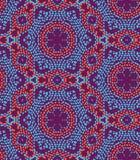 Modèle sans couture de texture de vecteur avec la texture irrégulière de points dans la disposition géométrique Texture colorée e illustration de vecteur
