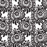 Modèle sans couture de tissu de vecteur de dentelle Image stock