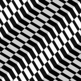 Modèle sans couture de tissu de vecteur en arête de poisson abstrait de style Photo stock