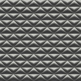 Modèle sans couture de trame métallique abstraite photographie stock libre de droits