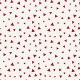 Modèle sans couture de triangle de style de Memphis Image libre de droits