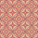 Modèle sans couture de tuiles de motif ethnique de mosaïque Images stock